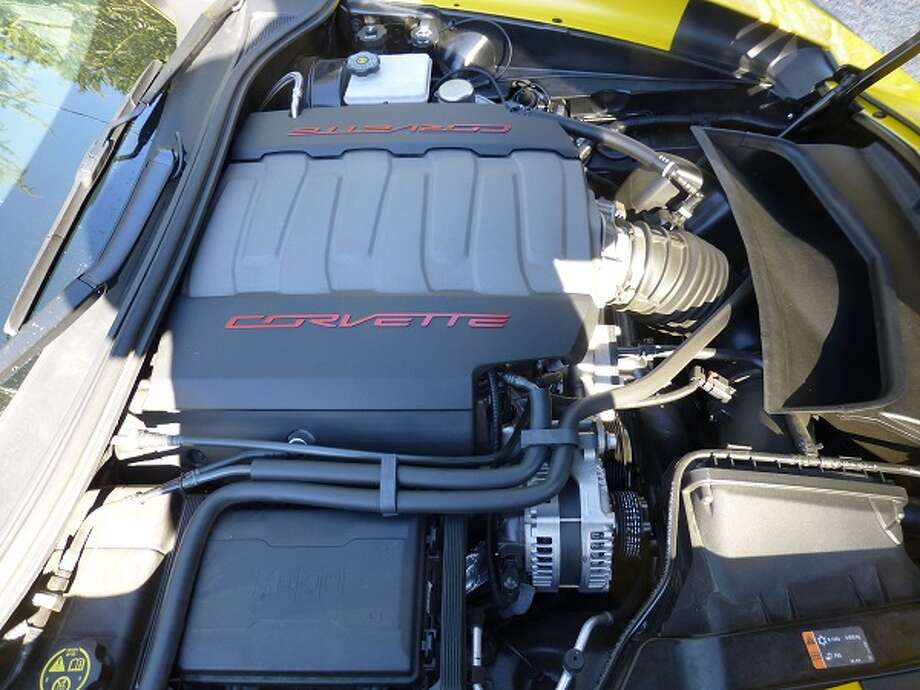 This 6.2-liter engine will get you down the road in a hurry --  195 miles an hour top speed.