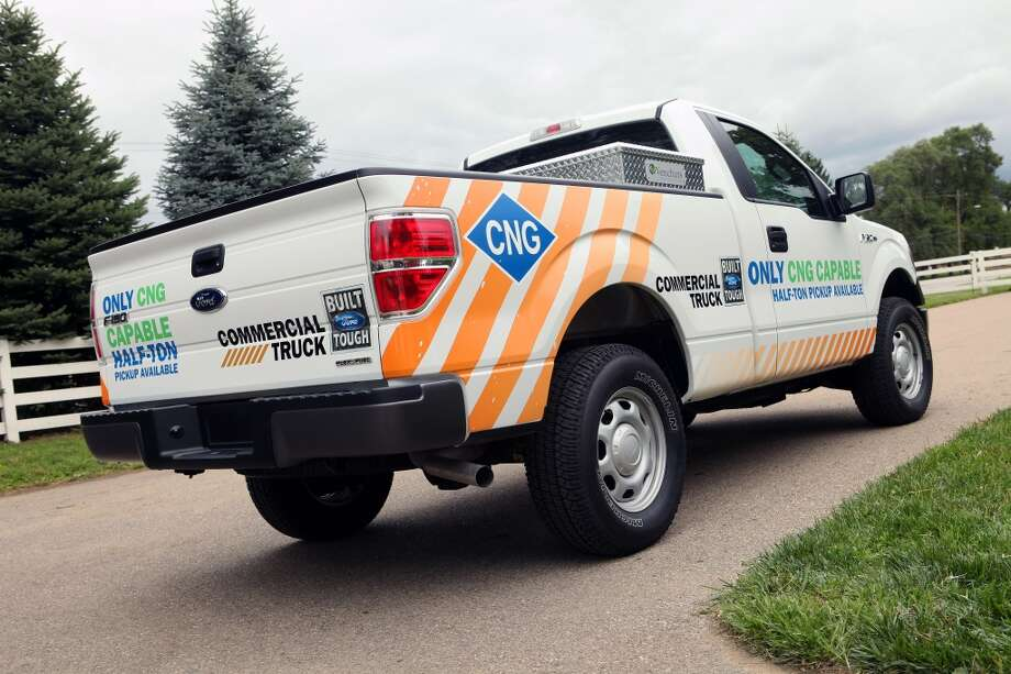 Ford has released a natural-gas powered versions of its popular F-150 pickup, which the company started producing for the 2014 model year. Photo: Ford