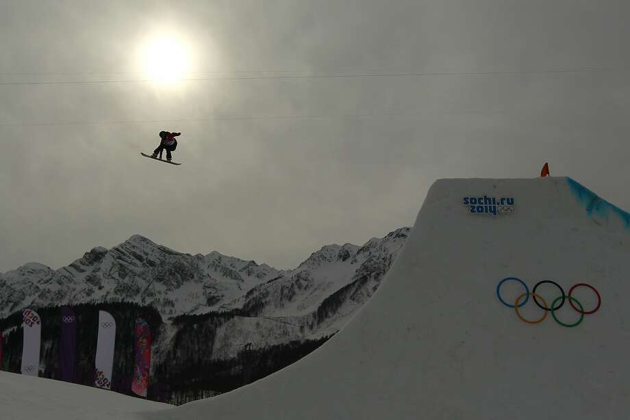 Spencer O'Brien of Canada competes in the Women's Snowboard Slopestyle Finals during day two of the Sochi 2014 Winter Olympics at Rosa Khutor Extreme Park on February 9, 2014 in Sochi, Russia. Photo: Mike Ehrmann, Getty Images