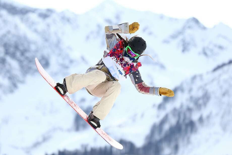 Karly Shorr of the United States competes in the Women's Snowboard Slopestyle Finals during day two of the Sochi 2014 Winter Olympics at Rosa Khutor Extreme Park on February 9, 2014 in Sochi, Russia. Photo: Paul Gilham, Getty Images