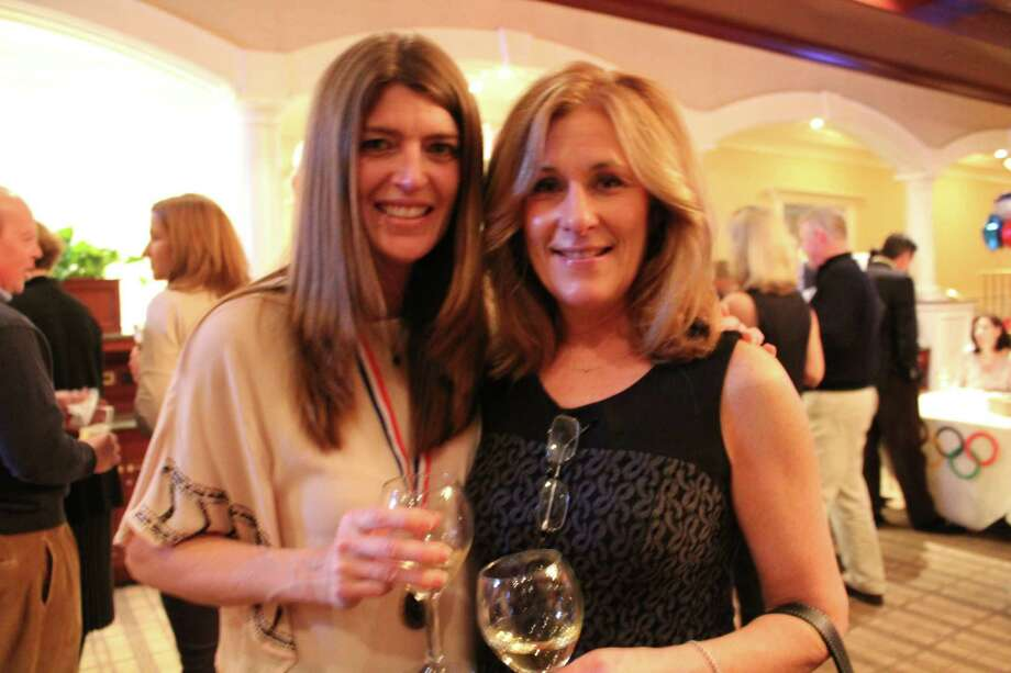 On Saturday, February 8, The Depot hosted a fundraiser at the Woodway Country Club of Darien.  Over 100 supporters were in attendance at the Olympics-themed event and the money raised will go towards equipment for the youth who use The Depot facility.  The Depot is the Darien youth center run by and for students. The Depot offers a fun, safe and welcoming environment for them to gather, collaborate and contribute to the community. Photo: P. Ha-Stevenson / Hearst Connecticut Media Group
