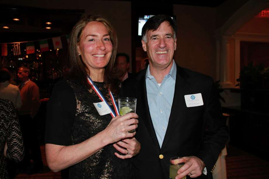 On Saturday, February 8, The Depot hosted a fundraiser at the Woodway Country Club of Darien.  Over 100 supporters were in attendance at the Olympics-themed event and the money raised will go towards equipment for the youth who use The Depot facility.  The Depot is the Darien youth center run by and for students. The Depot offers a fun, safe and welcoming environment for them to gather, collaborate and contribute to the community. Photo: Picasa, P. Ha-Stevenson / Hearst Connecticut Media Group
