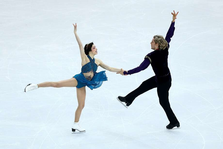 Meryl Davis and Charlie White of the United States compete in the Team Ice Dance Free Dance during day two of the Sochi 2014 Winter Olympics at Iceberg Skating Palace onon February 9, 2014 in Sochi, Russia. Photo: Clive Mason, Getty Images