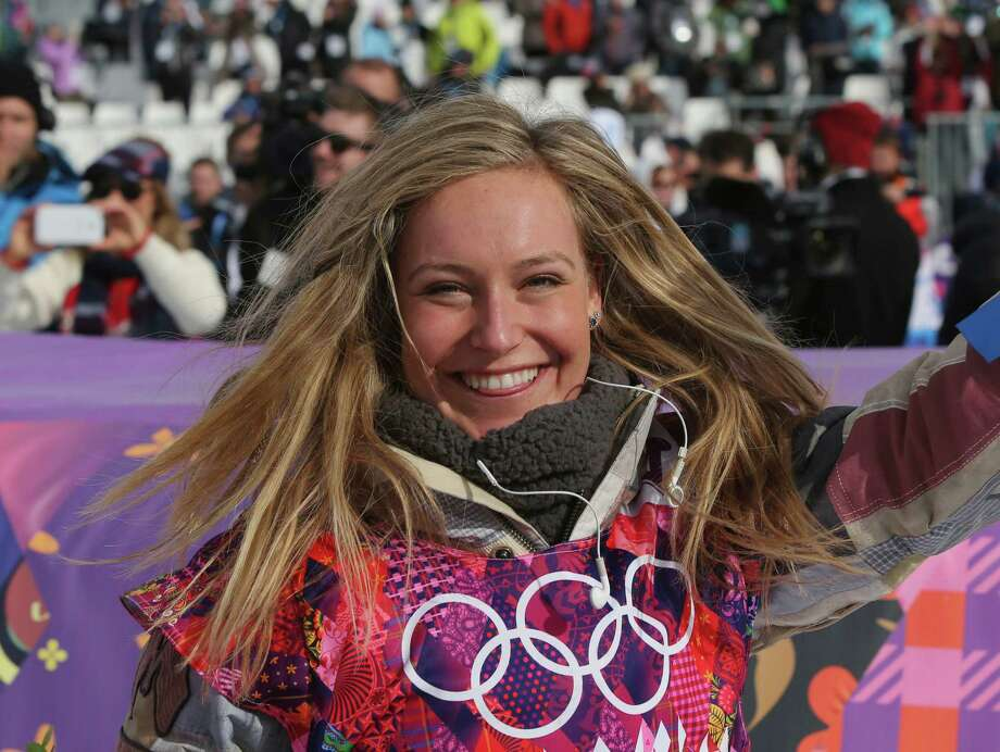 Olympic snowboarder Jamie Anderson Photo: Sergei Grits, Associated Press / AP