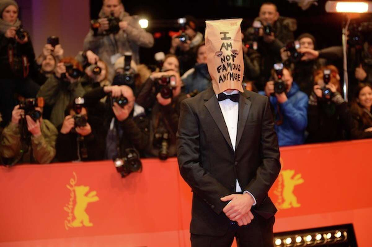 US actor Shia LaBeouf arrives on the red carpet for the screening of the film