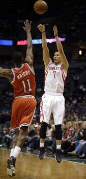 Feb. 8: Rockets 101, Bucks 95  A well-rounded effort sent the Rockets past the Bucks in Milwaukee.  Record: 34-17 Photo: Jeffrey Phelps, Associated Press