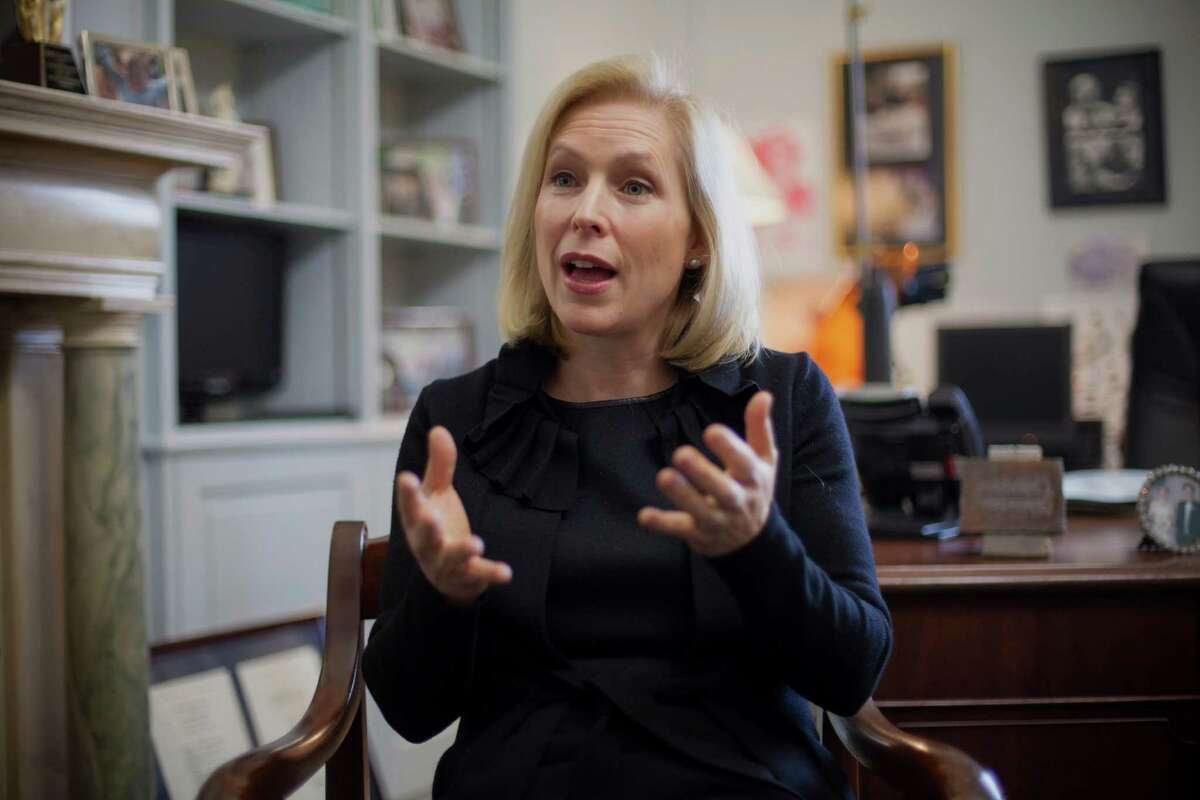 U.S. Sen. Kirsten Gillibrand, D-N.Y., is scheduled to kick off a speaker series in Houston next month hosted by the Harris County Democratic Party. The series will feature Democratic presidential candidates.