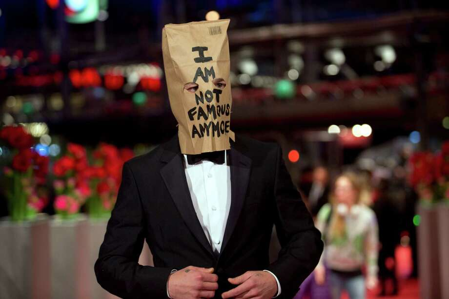 Shia LaBeouf - Pretending not to be famous anymore. Photo: Axel Schmidt, STF / AP