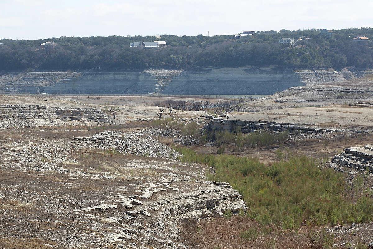 Medina Lake - 2014 On May 26, 2014, Medina Lake was at 3 percent full according to the Texas Water Development Board.