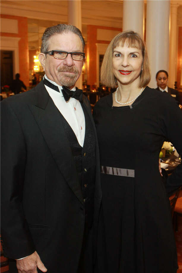 Marshal and Victoria Lightman Photo: Gary Fountain, For The Chronicle