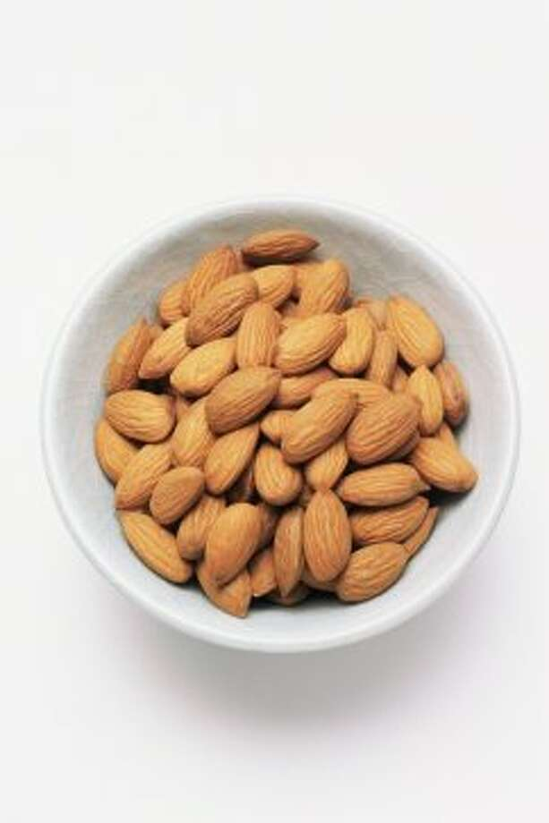 Need more calcium, but dairy's not an option? Try these foods instead. Almonds have more calcium than any other nut. Have a quarter-cup serving size. Photo: Getty Images/Image Source