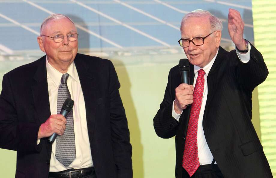 17. Charles Munger (left)Total donated:  $150.4 million Recipients: University of Michigan at Ann Arbor, Huntington Library, Art Collections, and Botanical Gardens Years on the list (rank that year): 2004 (27) (ChinaFotoPress/Getty Images) Photo: ChinaFotoPress, Getty Images