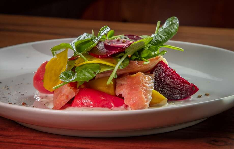 The gently smoked Mount Lassen Trout salad at Alta CA in San Francisco. Photo: John Storey, Special To The Chronicle