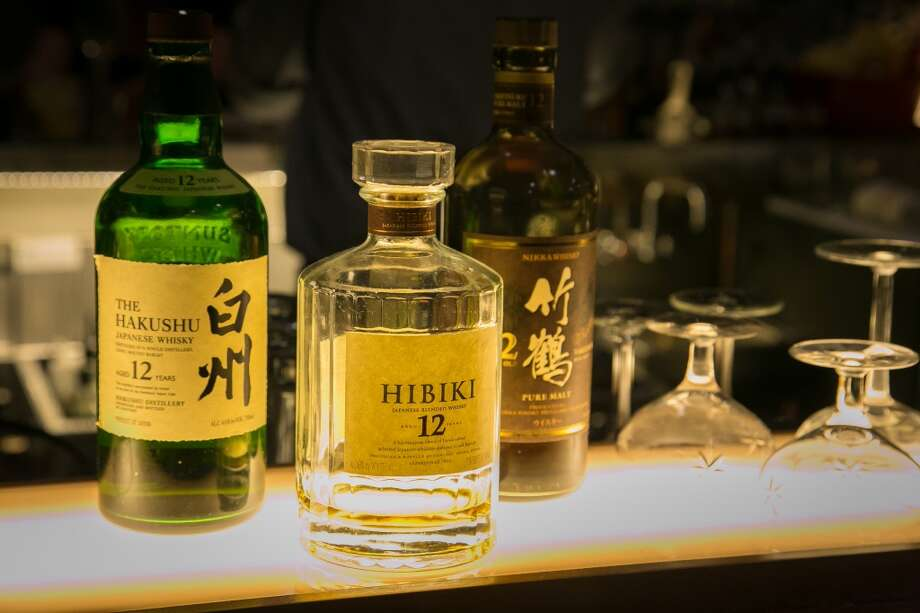 Japanese whiskies at the bar at Alta CA in San Francisco. Photo: John Storey, Special To The Chronicle