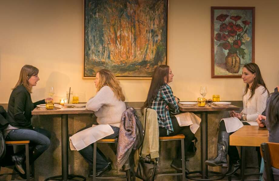 People have dinner at Alta CA in San Francisco. Photo: John Storey, Special To The Chronicle