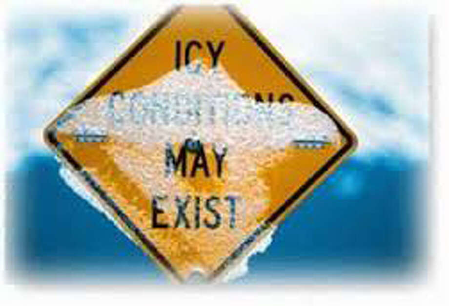 Possible Ice in some areas