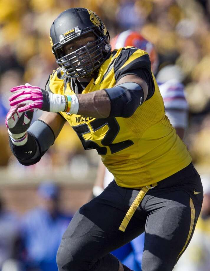 Michael Sam was the SEC Co-Defensive Player of the Year during the 2013 season. Photo: Shane Keyser, MCT
