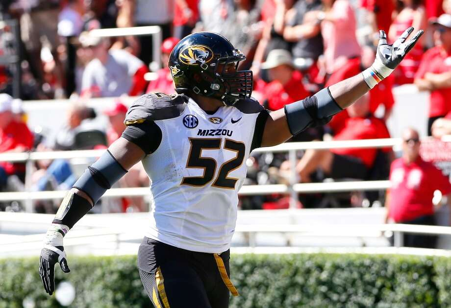 Michael Sam had 48 tackles, including 19 for a loss during his senior season. Photo: Kevin C. Cox, Getty Images