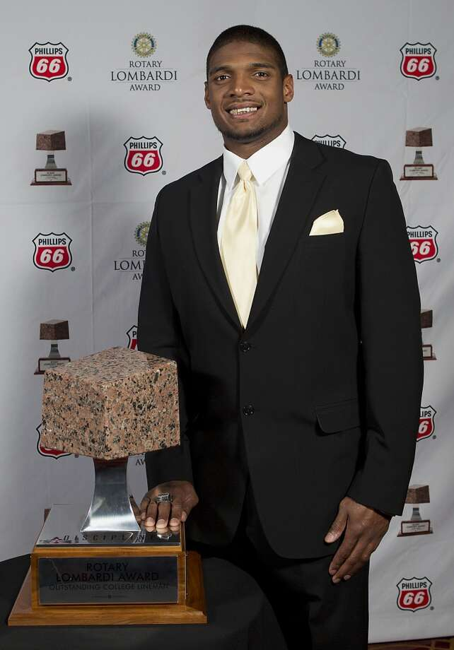 Michael Sam was a Lombardi Award finalist. Photo: James Nielsen, Houston Chronicle