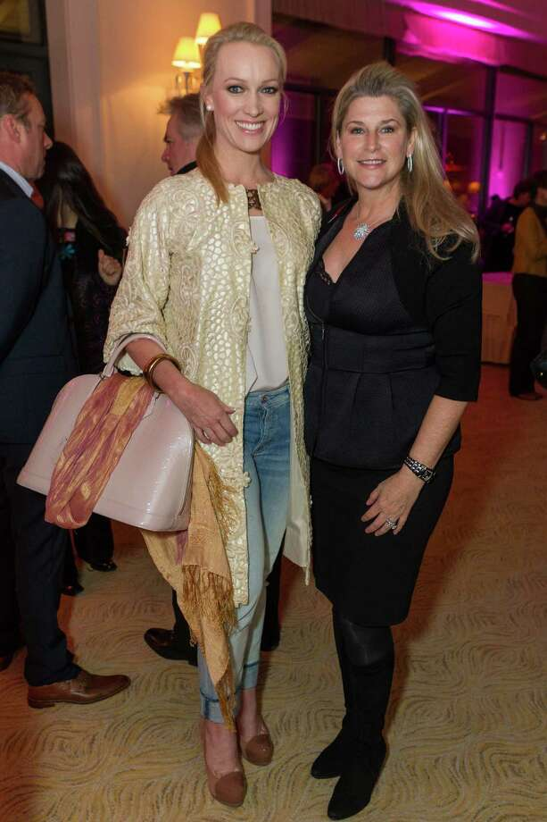 Amy Andersen and Renee Coker at the Neiman Marcus Spring Trend Presentation on February 5, 2014. Photo: Drew Altizer Photography/SFWIRE, Drew Altizer Photography / ©2014 by Drew Altizer, all rights reserved