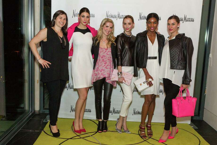 Kathleen Decker, Breanne Loveland, Samantha Hartwell, Hanna Perry, Sydney Reed and Nicole Grinsell at the Neiman Marcus Spring Trend Presentation on February 5, 2014. Photo: Drew Altizer Photography/SFWIRE, Drew Altizer Photography / ©2014 by Drew Altizer, all rights reserved