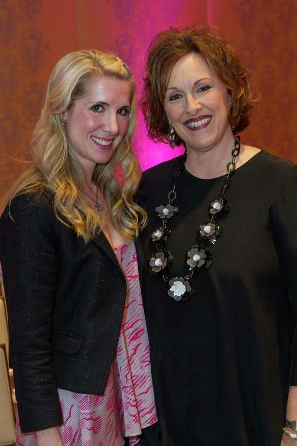 Samantha Hartwell and Roxanne Deblauwe at the Neiman Marcus Spring Trend Presentation on February 5, 2014. Photo: Drew Altizer Photography/SFWIRE, Drew Altizer Photography / ©2014 by Drew Altizer, all rights reserved