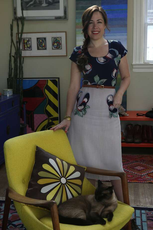 STYLEMAKER SPOTLIGHT: COLETTE CLARK Photo: Liz Hafalia, The Chronicle