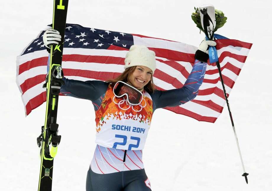 Julia Mancuso Medal: Bronze Discipline: Alpine skiing Event: Women's Super combined Photo: Charles Krupa, AP / AP