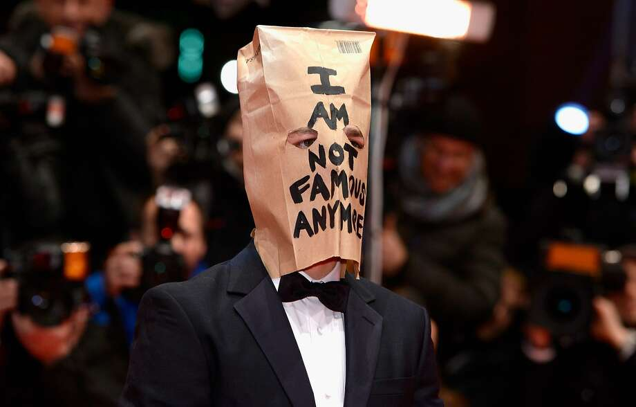 Yes, you are, Shia! You're a famous plagiarist: Actor Shia LaBeouf arrives on the red 