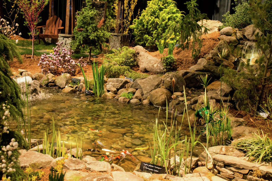 """Backyard Paradise"" is the theme of the 33rd Annual Connecticut Flower & Garden Show, which opens this week. The event takes place Thursday, Feb. 20, to Sunday, Feb. 23, at the Connecticut Convention Center in Hartford. Photo: Contributed Photo / The News-Times Contributed"