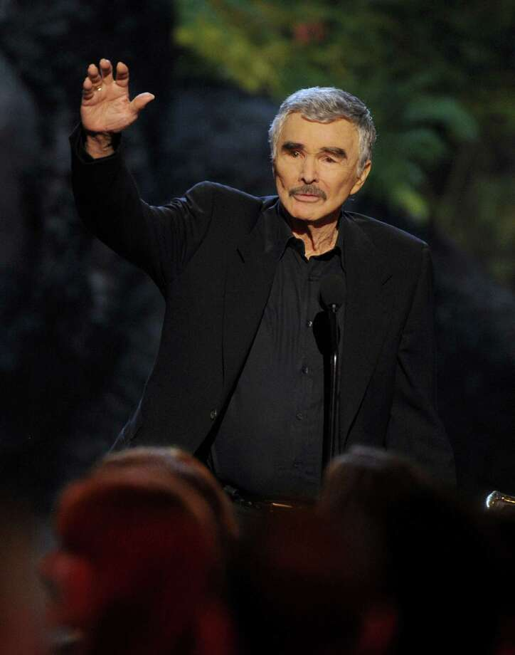 Burt Reynolds accepts the alpha male award at Spike TV's Guys Choice Awards at Sony Pictures Studios on Saturday, June 8, 2013, in Culver City, Calif. (Photo by Frank Micelotta/Invision/AP) Photo: Frank Micelotta / Invision