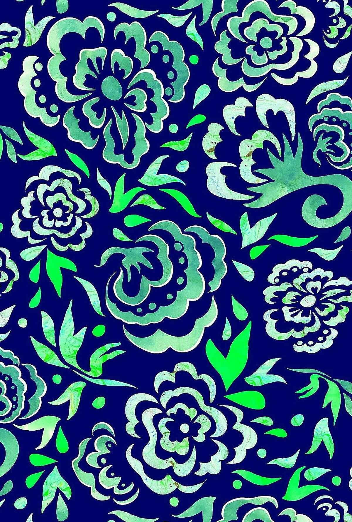 Doby flower pattern, a Colette Clark fave.