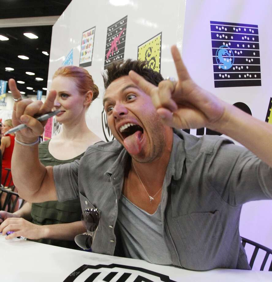 "Kevin Alejandro attends HBO's ""True Blood"" Autograph Signing At Comic-Con 2011 on July 22, 2011 in San Diego, California. Photo: FilmMagic"