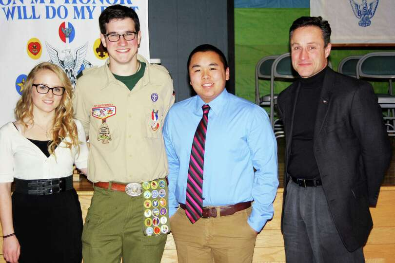 Senior earns Eagle Scout rank Tech Valley High School (R) senior Thomas Gamsjager was recently award
