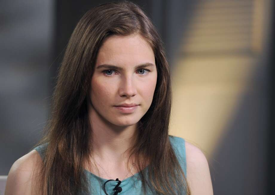 Amanda Knox speaks to Diane Sawyer during an interview for ABC TV in April 2013.  (Photo by Ida Mae Astute/ABC via Getty Images) Photo: Ida Mae Astute, ABC Via Getty Images