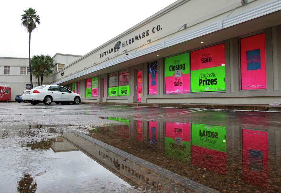 Buffalo Hardware Co., 2614 Westheimer, shown Monday, Feb. 10, 2014, in Houston.   The store is going out of business after being in business since 1946. Photo: Melissa Phillip, Houston Chronicle / © 2014  Houston Chronicle