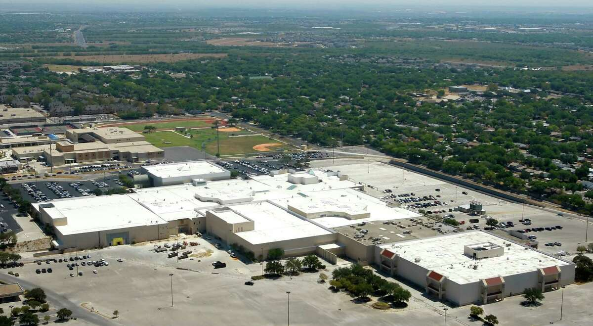 Rackspace Hosting's headquarters, in the former Windsor Park Mall in Windcrest, is seen Tuesday Sept. 6, 2011 in this aerial image.