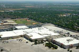Rackspace Hosting's headquarters, in the former Windsor Park Mall in Windcrest, is seen Tuesday Sept. 6, 2011 in this aerial image. (William Luther/wluther@express-news.net)