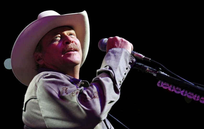 Alan Jackson performs during the San Antonio Stock Show & Rodeo Monday Feb. 10, 2014 at the AT&T Cen