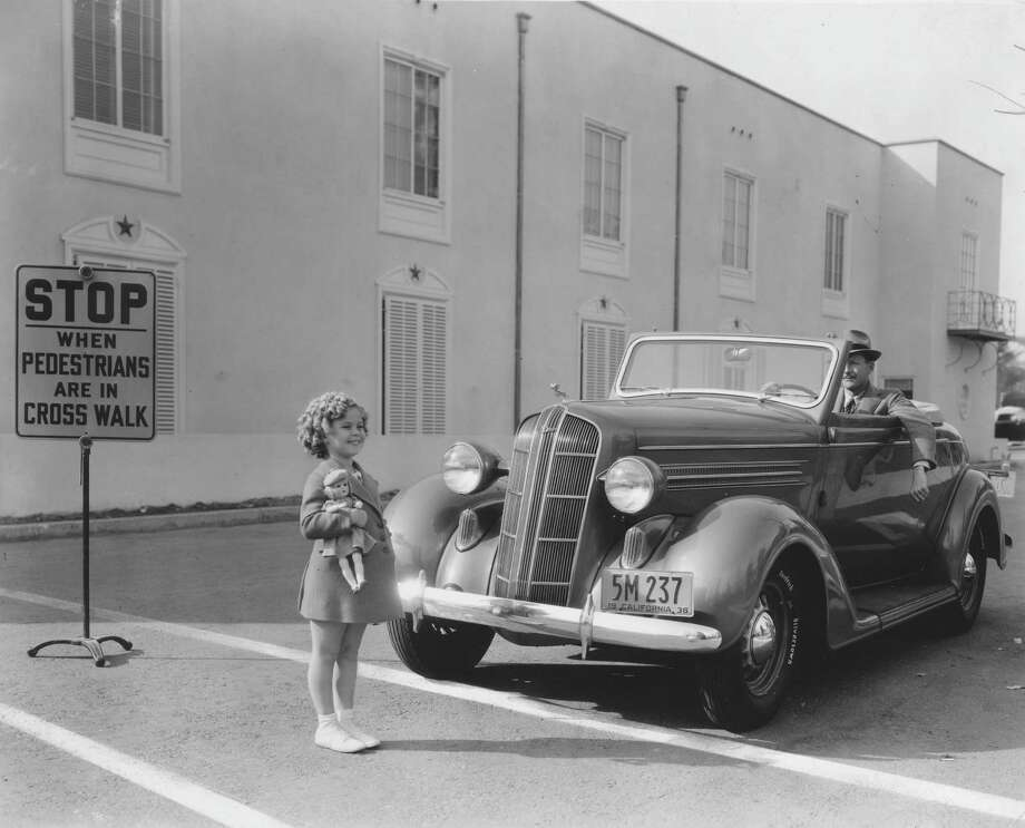 1935: Child actress Shirley Temple on the lot in. Photo: Margaret Chute, Getty Images / Moviepix