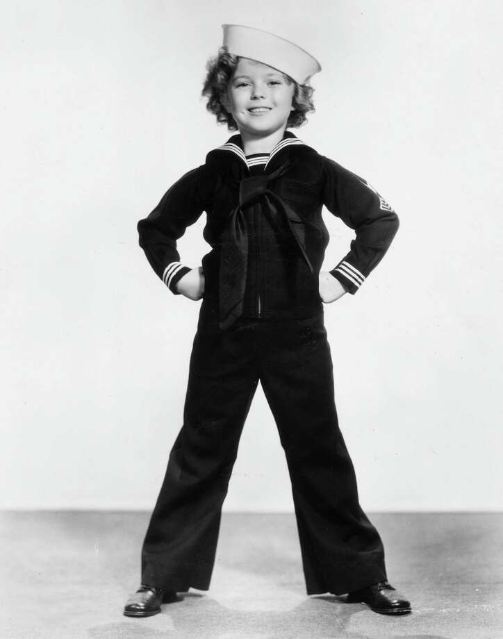 1935:  Shirley Temple wearing a sailor's uniform and cap. Photo: Hulton Archive, Getty Images / Archive Photos