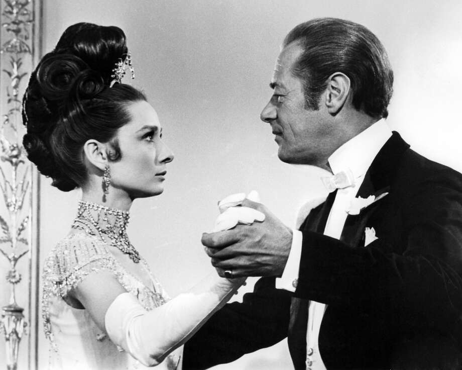 "Audrey Hepburn and Rex Harrison in ""My Fair Lady."" Photo: Silver Screen Collection, Getty Images"