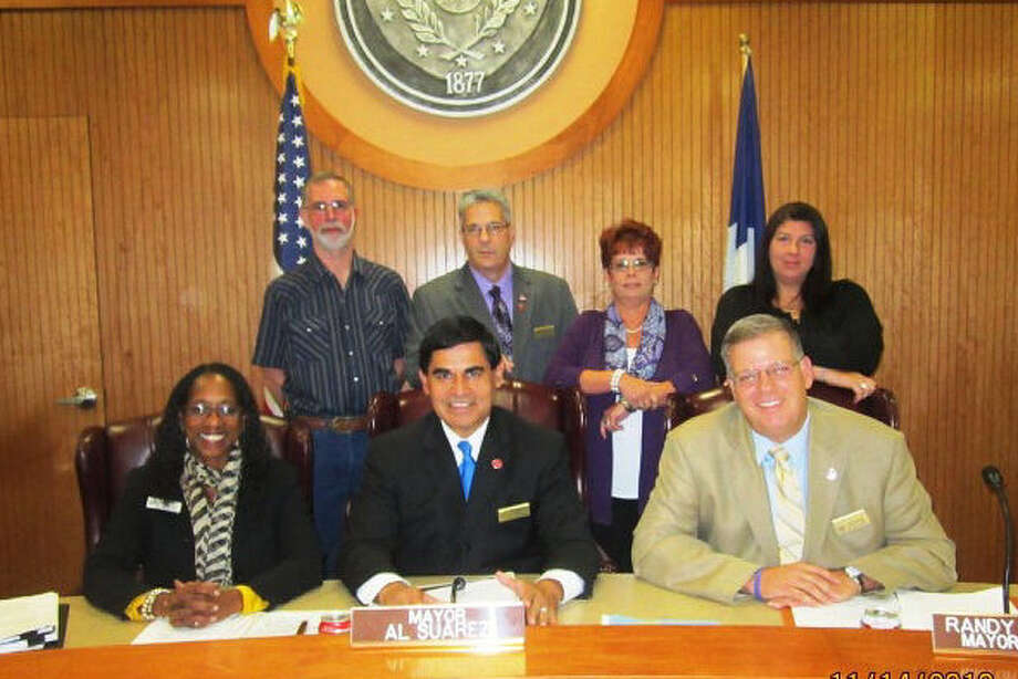 Converse Mayor Pro Tem Randy Pannell, seated right, resigned from the council following its Feb. 4 meeting. Photo: Courtesy Photo