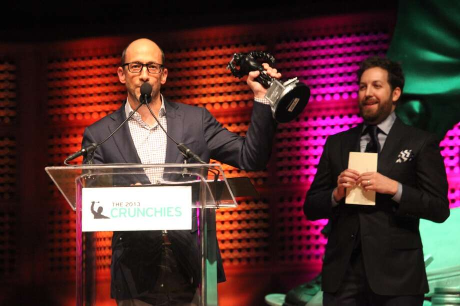 Dick Costolo, of Twitter, won the CEO of the year at the TechCrunch's annual award show at Davies Symphony Hall in  San Francisco Calif. on Feb. 10, 2014. (Deborah Svoboda/ San Francisco Chronicle) Photo: Deborah Svoboda, The Chronicle