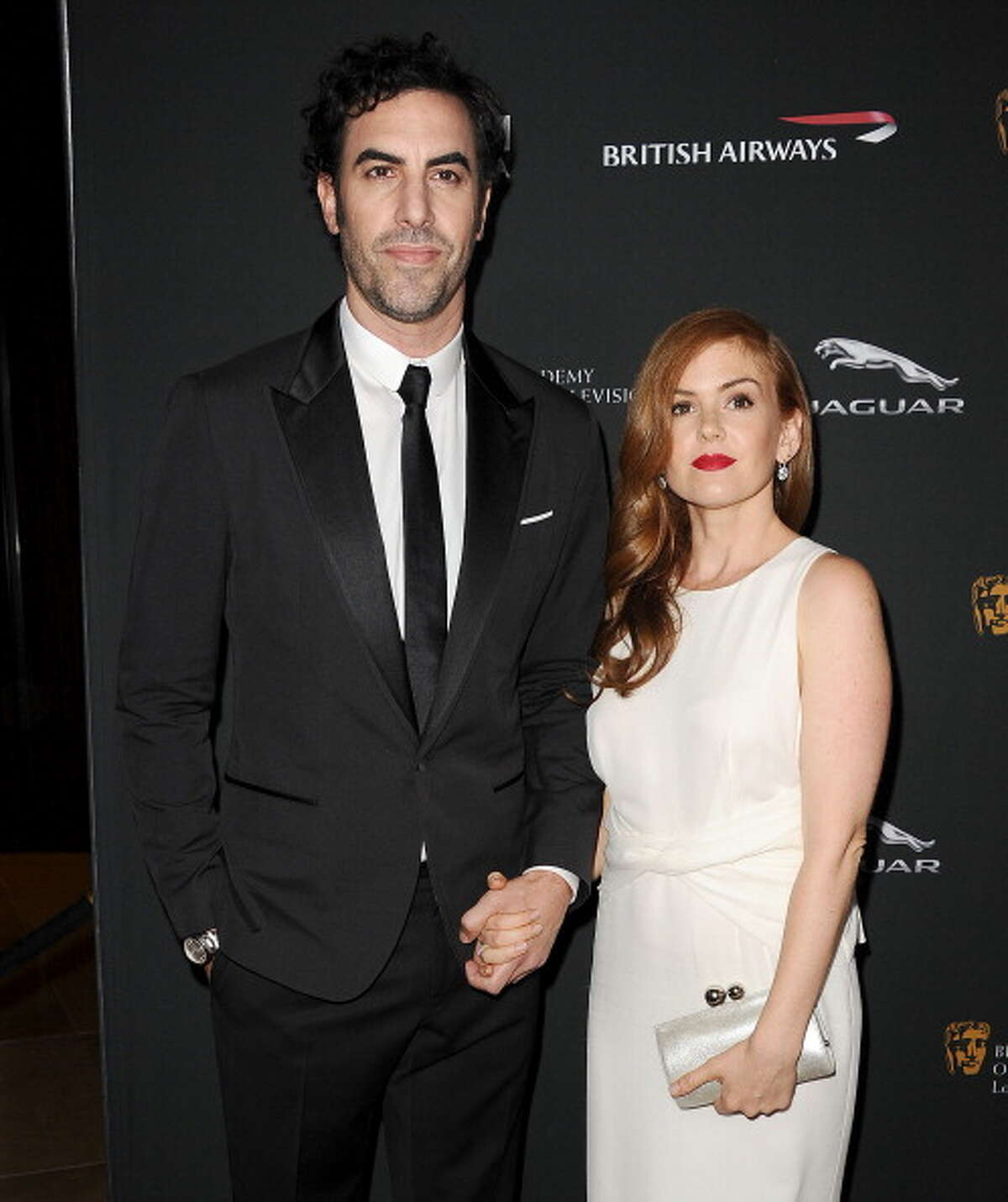 Tall celebs like Sasha Baron Cohen will likely always tower over their significant others, in his case - Isla Fisher. Check out other celebrity couples with major height differences.