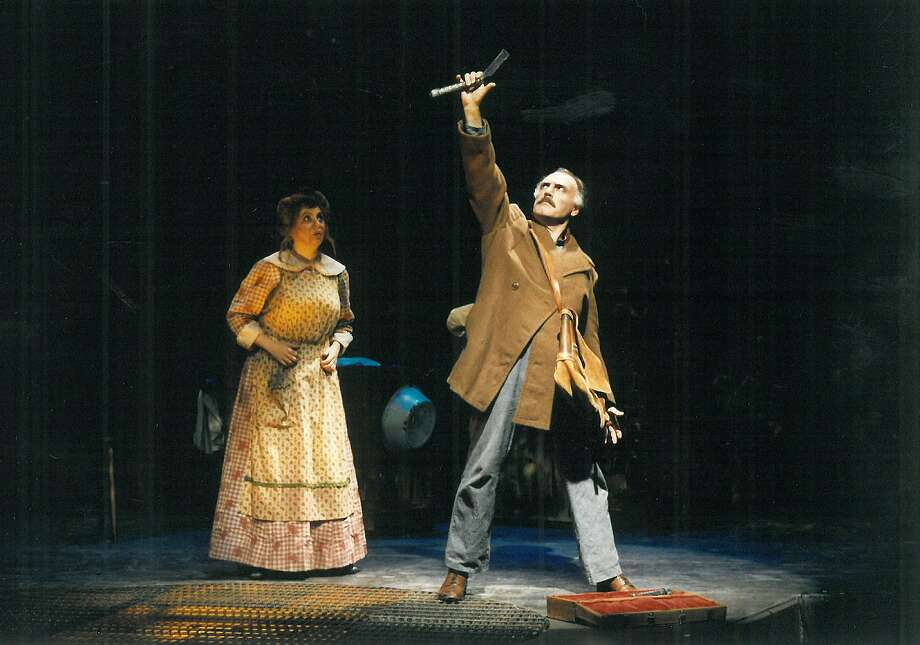 "TheatreWorks will stage ""Sweeney Todd: The Demon Barber of Fleet Street"" for Halloween. Photo: Wilson Graham"