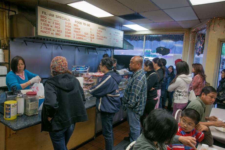 Customers enjoy lunch at Fil-Am Cuisine in Daly City. Photo: John Storey, Special To The Chronicle