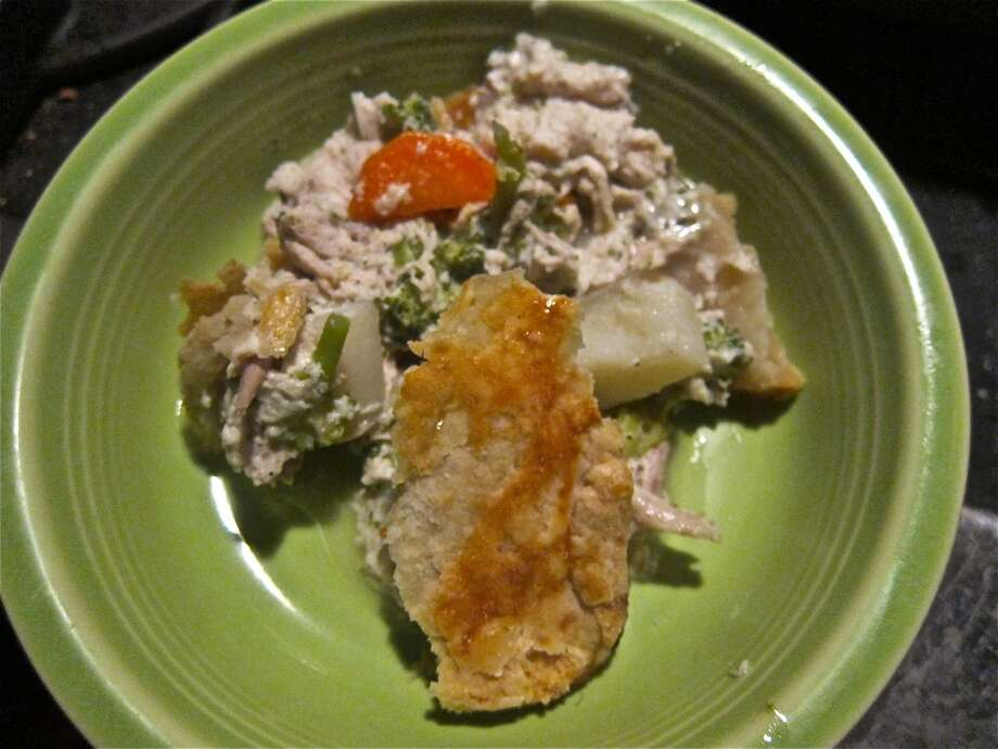 Take-home chicken pot pie from Heights General Store. Photo: Alison Cook