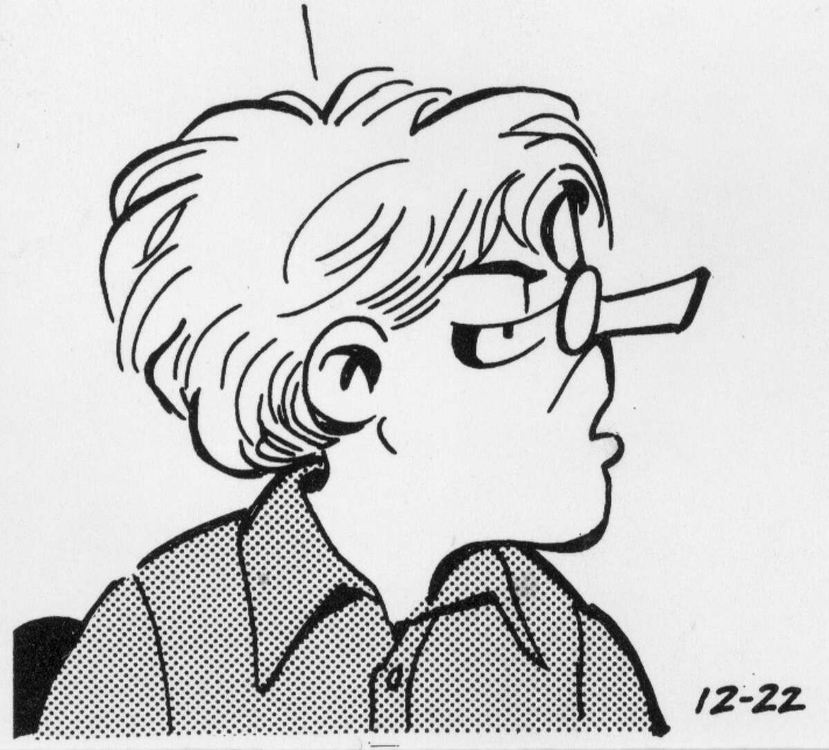 one of the characters from the Doonesbury comic strip by G. B. Trudeau HOUCHRON CAPTION (01/03/2000):