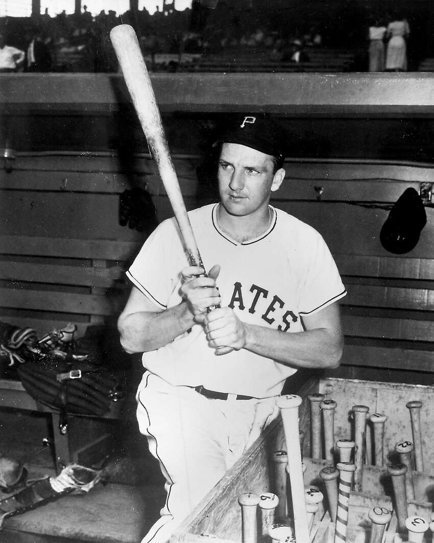 Pirates Hall of Famer Ralph Kiner.
